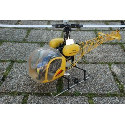 BELL 47GII Yellow radio-controled helicopter RTF