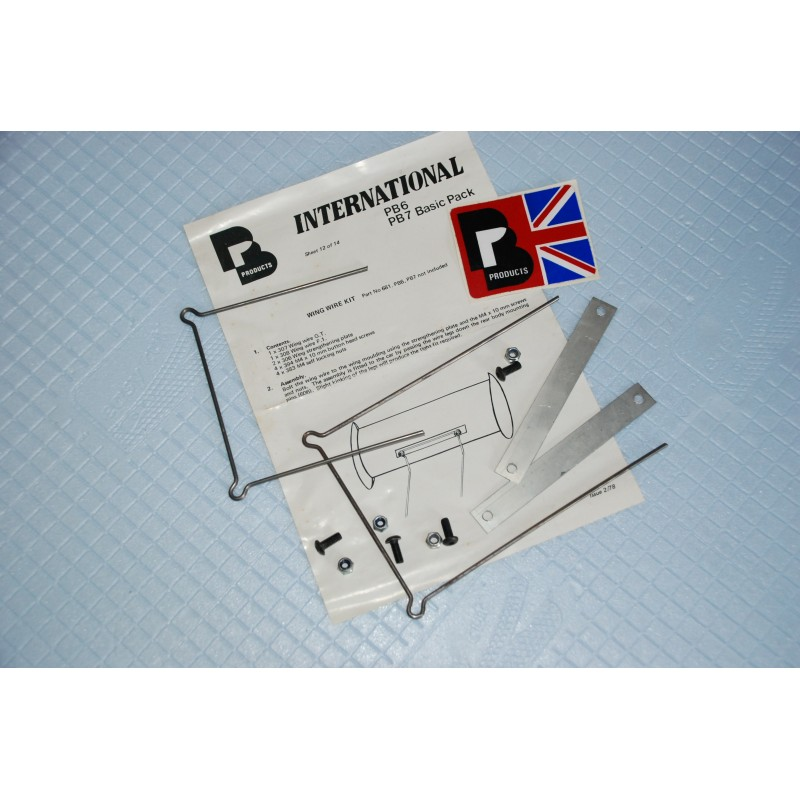 Vintage PB - Supports ailerons 78
