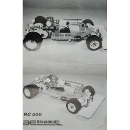 Vintage ASSOCIATED RC500 4WD