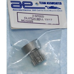 Vintage ASSOCIATED RC500 - Cloche embrayage 13/17 dents BV
