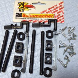 Vintage Schumacher - Set supports carrosserie réglables (4)