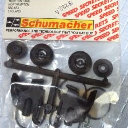 Vintage Schumacher - Set supports d'aileron Cougar/2000