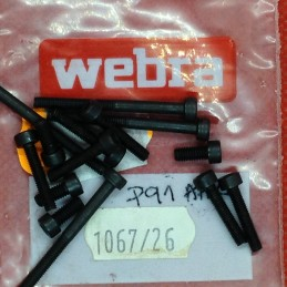 Vintage WEBRA SPEED 91 P5 - Set visserie