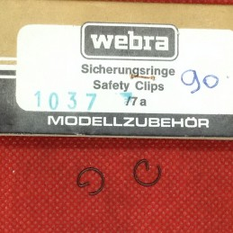Vintage WEBRA Speed 91- Circlips axe de piston