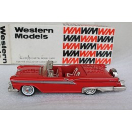 WMS 46X 1959 Ford Galaxie Skyliner (Open) Western Models