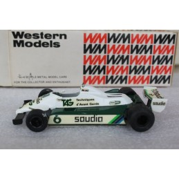 WRK 34 1982 Williams FW07C F1 Western Models