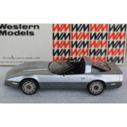 WP 108X 1983 Chevrolet Corvette (open) Western Models