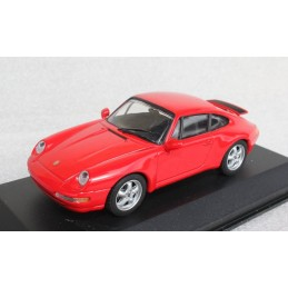 Porsche 911 coupe 1993 red Minichamps