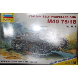 Italian Self-Propulled Gun M40 75/18