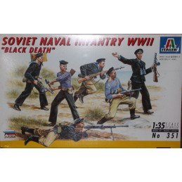 Soviet Naval Infantry WWII Black Death