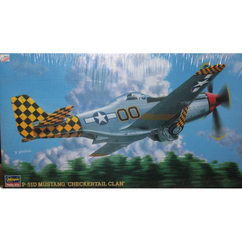 P51-D Mustang Checkertail Clan