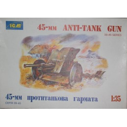 45-MM Anti-Tank Gun