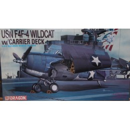 USN F4F-4 Wildcat w/Carrier Deck