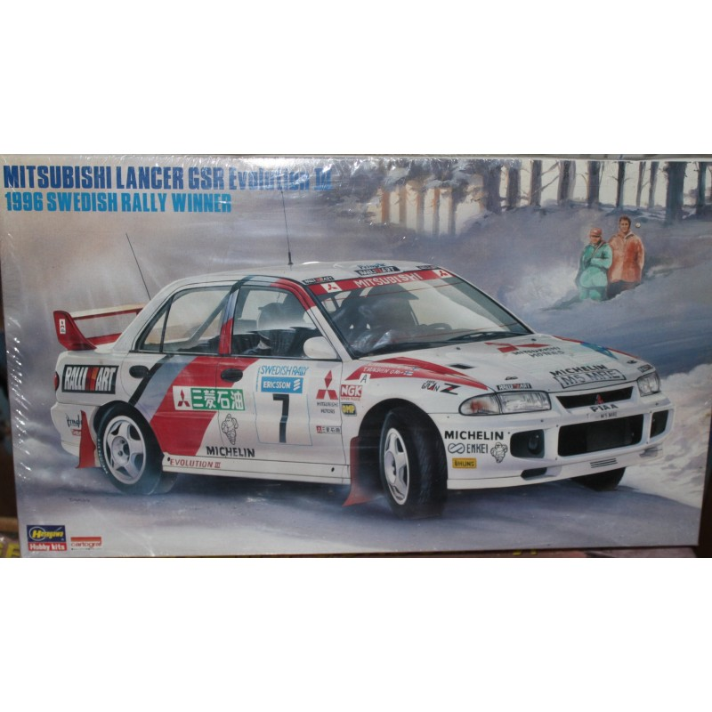 Mitsubishi Lancer GSR Evolution III 1996 Swedish Rally Winner