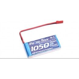 Battery Li-Po 3.7V-1050mAh - Spirit CX-Lama-Airwolf