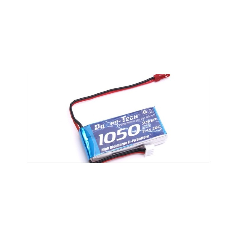 Century UK Evolution 180 Batterie Li-Po 7.4V-20C-1050mAh